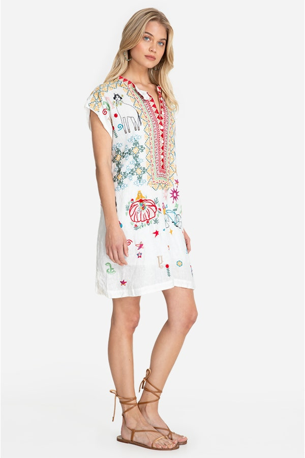 MISHTI LINEN DRESS
