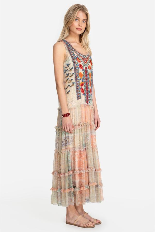 ENIOLA MESH DRESS
