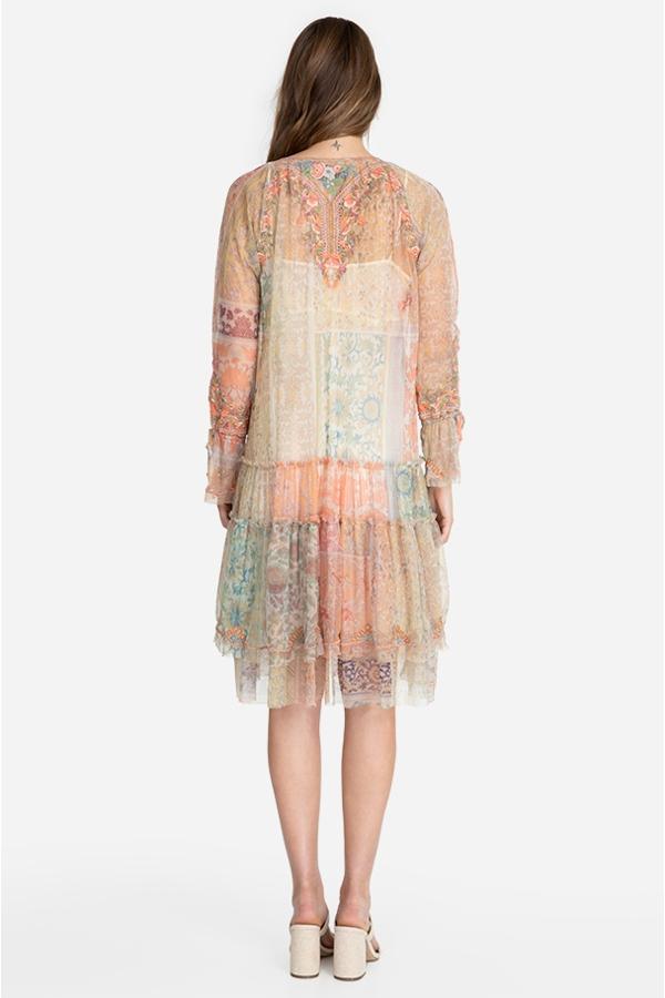 NKECHI MESH DRESS