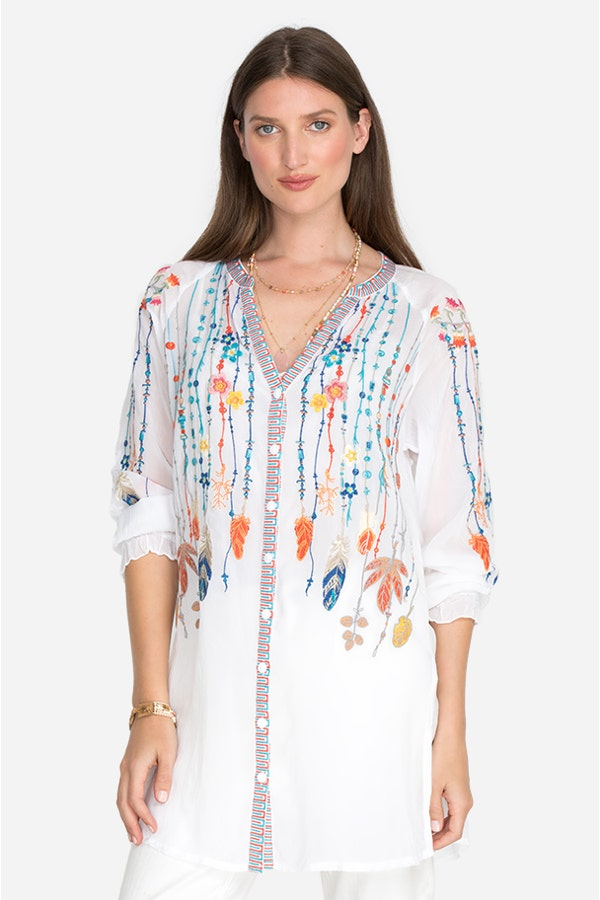 FEATHERS BLOUSE
