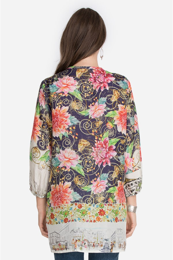 UPTOWN CLAIRE TUNIC