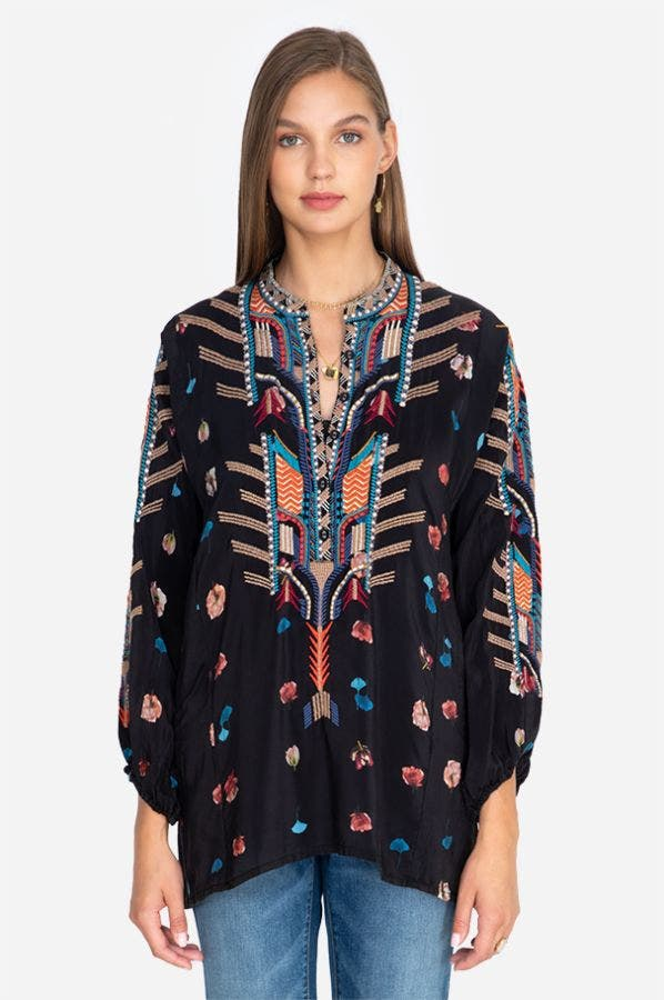 DESCANSO SILK TUNIC