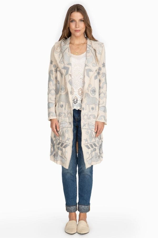 FILONE HOODED DUSTER