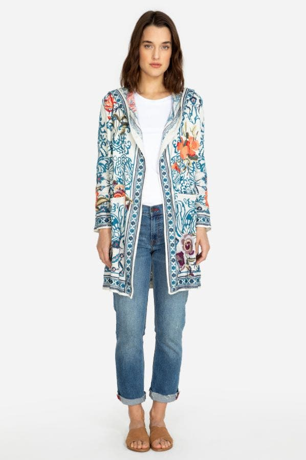 ACATTOR HOODED DUSTER