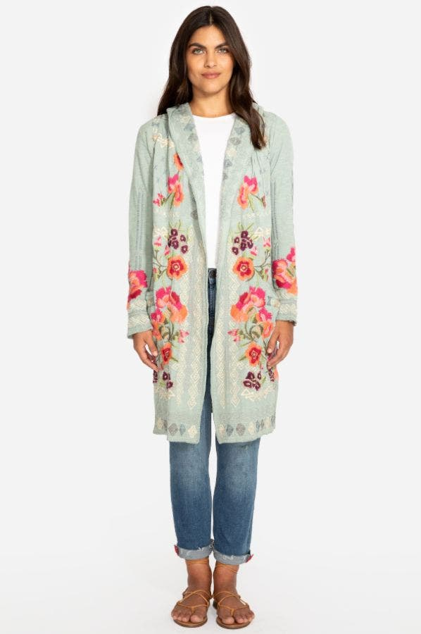 WYSEN HOODED DUSTER