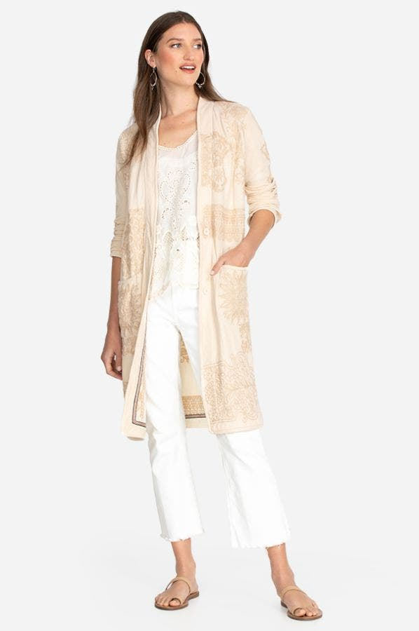 LACE CARDIGAN DUSTER