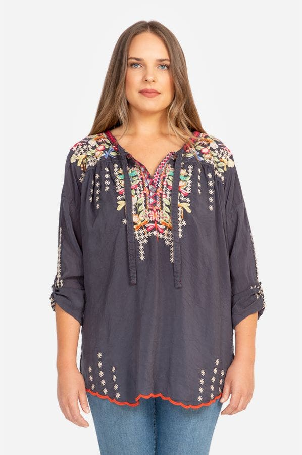 DRAGONFLY BLOUSE-PLUS SIZE