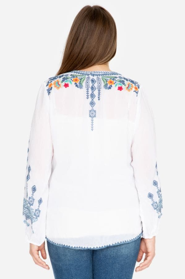 CHELSEE BLOUSE-PLUS SIZE