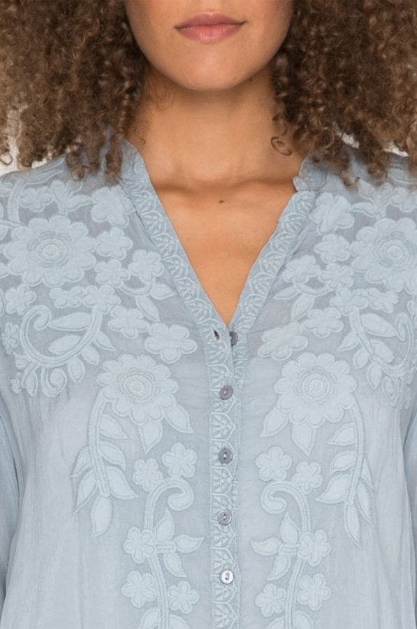 Applique Allie Blouse