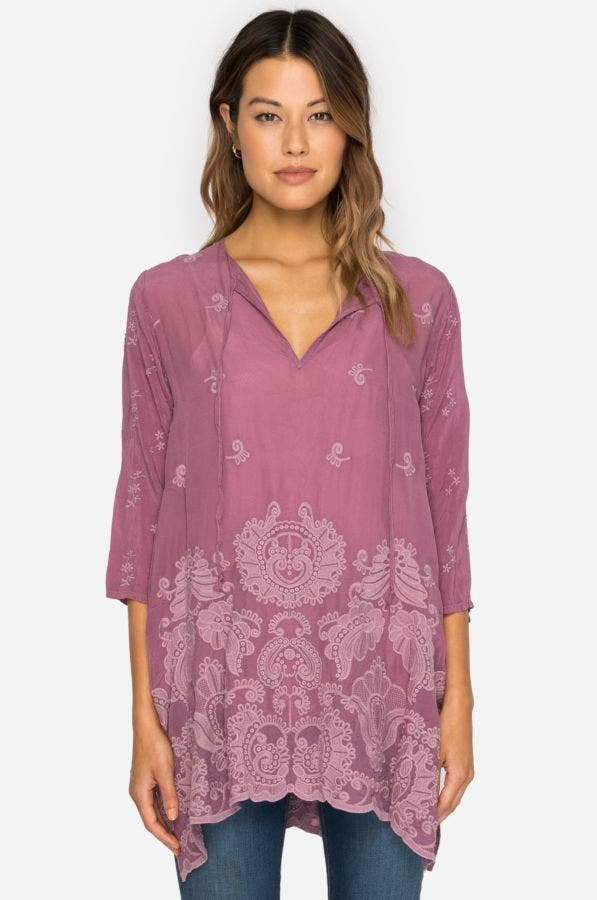 Paisley Flair Blouse