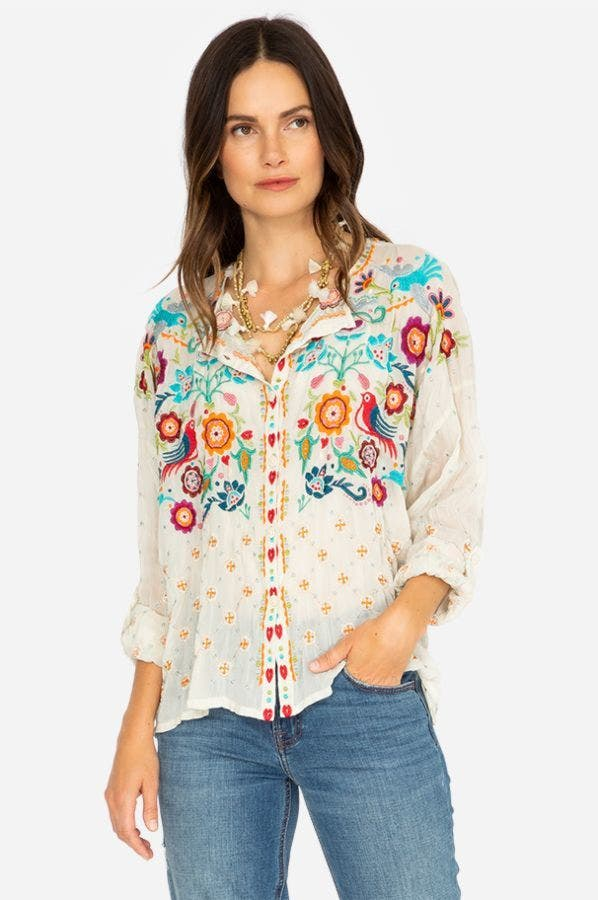 BRADY BUTTON DOWN BLOUSE