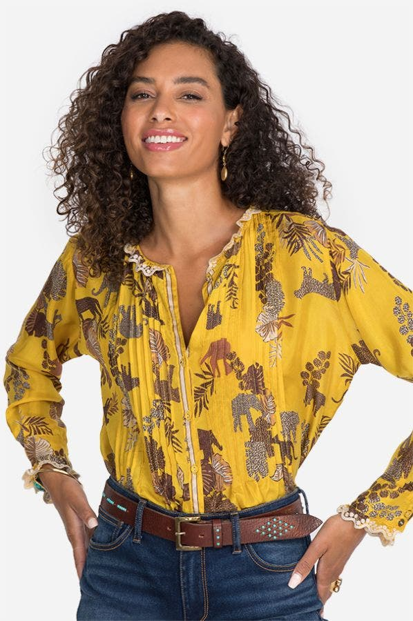 TALY EVETTE BLOUSE