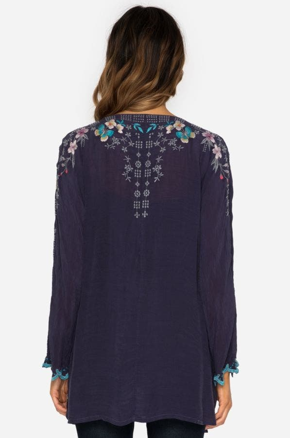 Butterfly Winter Blouse - Plus Size
