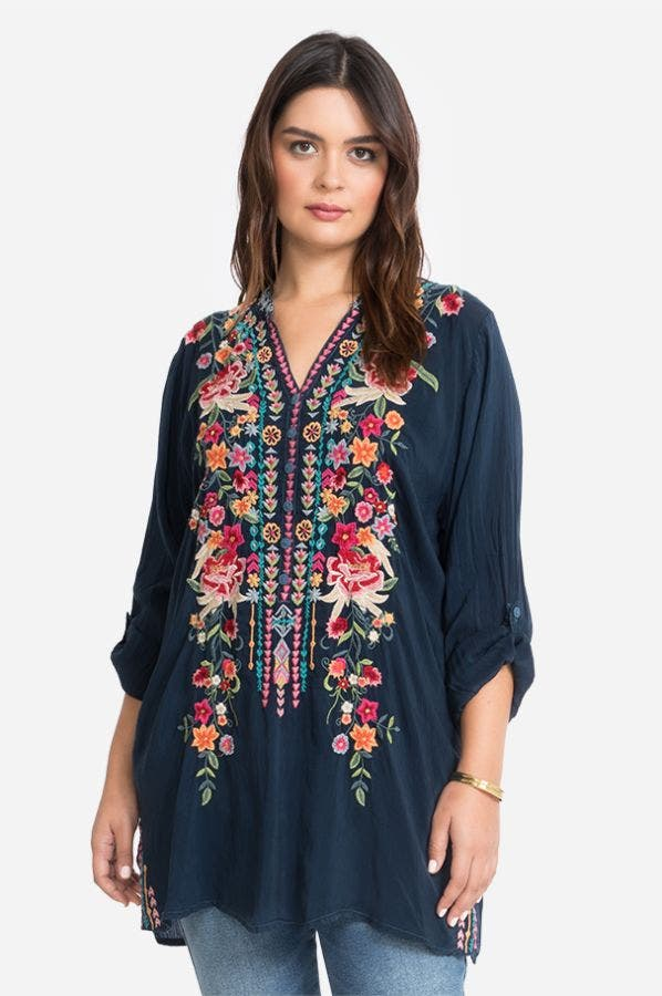ANNETTE TUNIC-PLUS SIZE