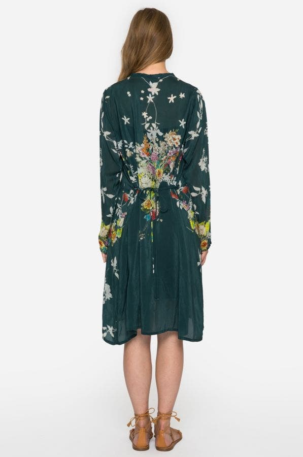 Dover Block Embroidered Dress
