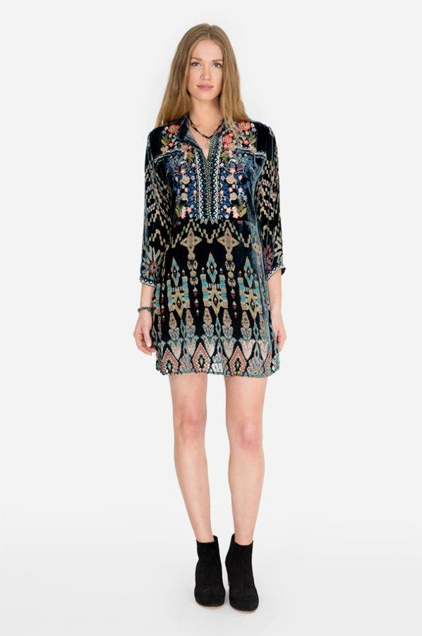 LAURELIE TUNIC DRESS