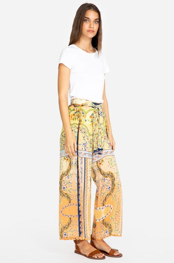 VIOLA CROPPED WRAPPED PANT