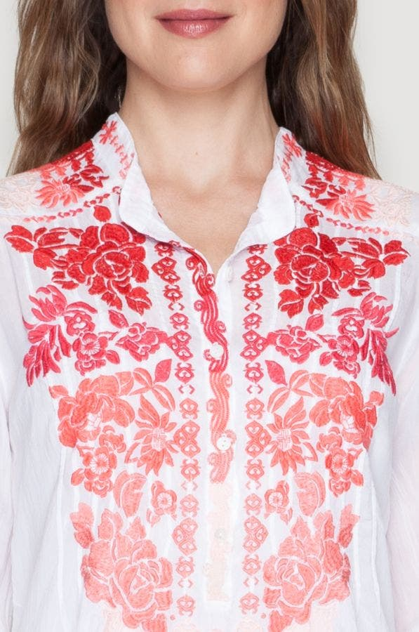 Blooming Ombre Blouse