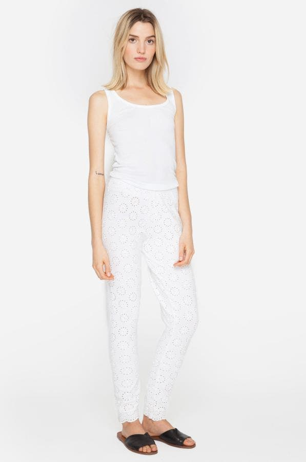 Stretch Eyelet Legging