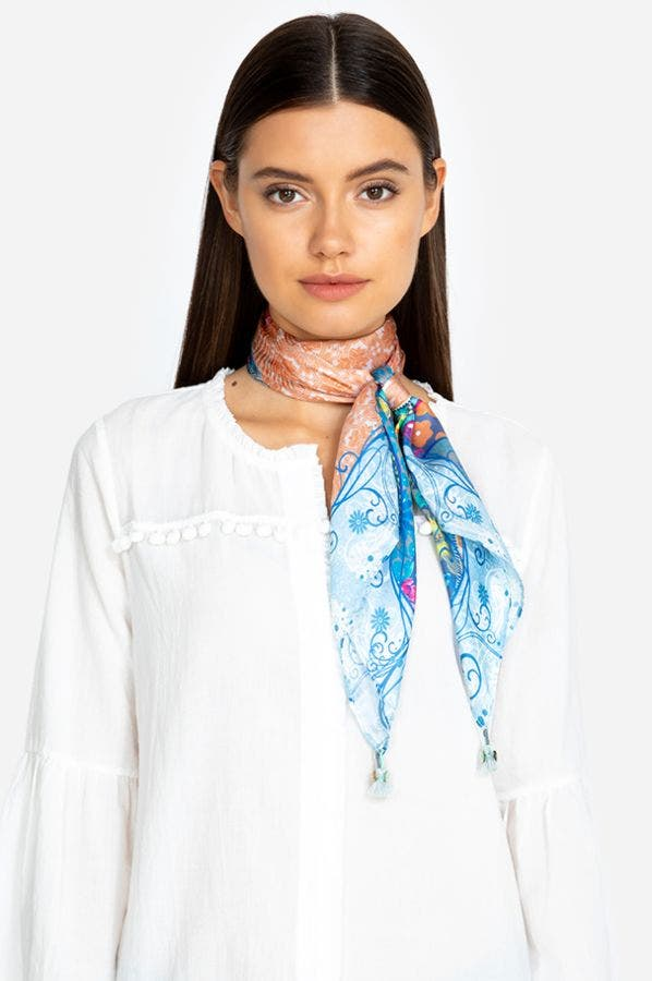 FLORAL TECH SCARF