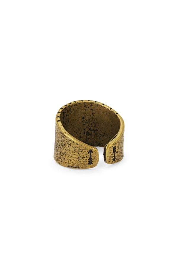GOLD OPEN BACK RING