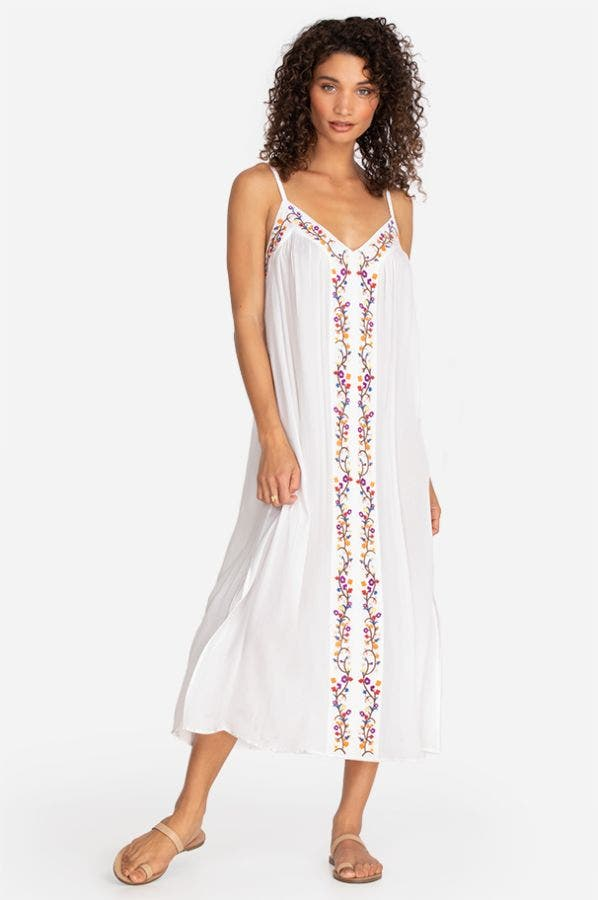 OJAI EMBROIDERED DRESS