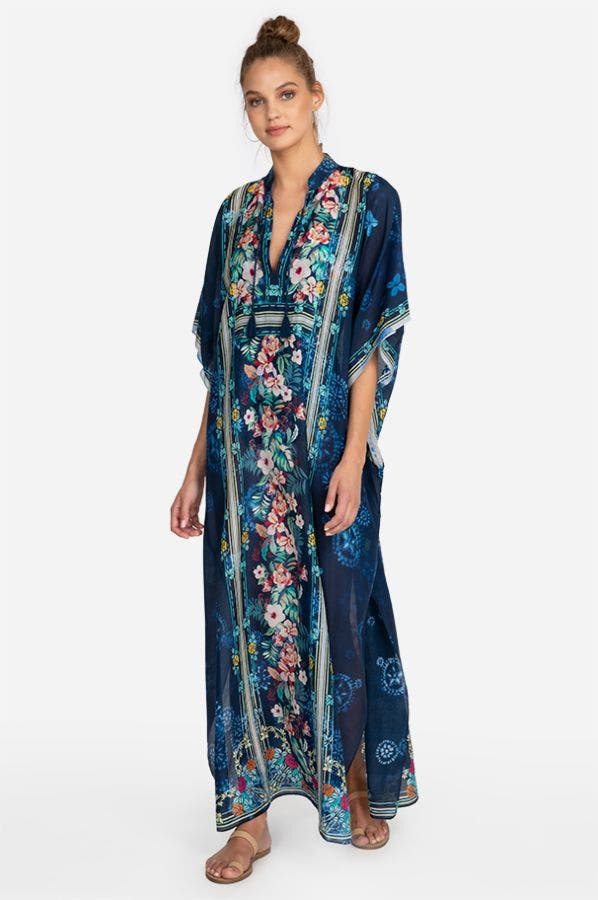 ANNIA LONG KAFTAN-PLUS SIZE