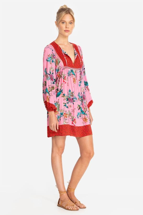 MALAKYE LONG SLEEVE COVER-UP