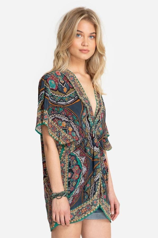 SPEZIA TWISTED COVER-UP