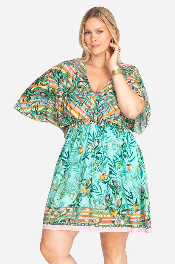 TAINA DOLMAN COVER UP-PLUS SIZE