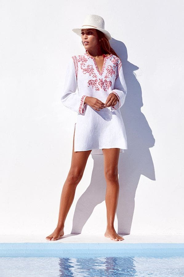 AZALEA EMBROIDERED TUNIC