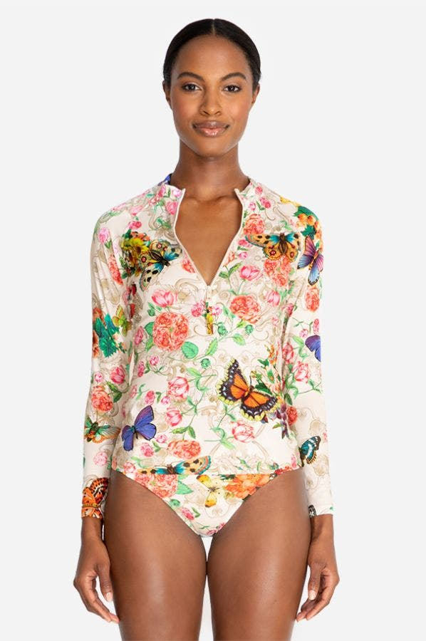 HOLLY SURF SHIRT-PLUS SIZE