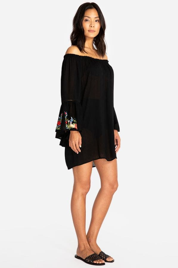 CASEY BELL SLEEVE TUNIC-PLUS SIZE