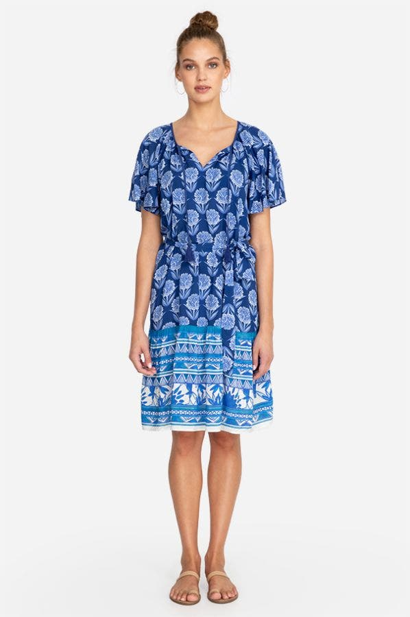 YAO SHORT SLEEVE COVER UP