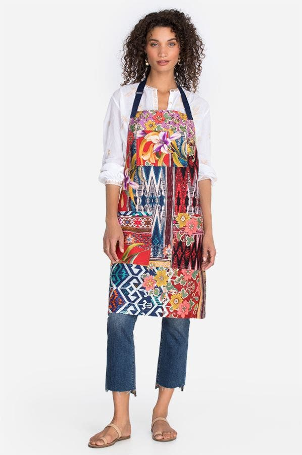 ALLIE PRINTED APRON
