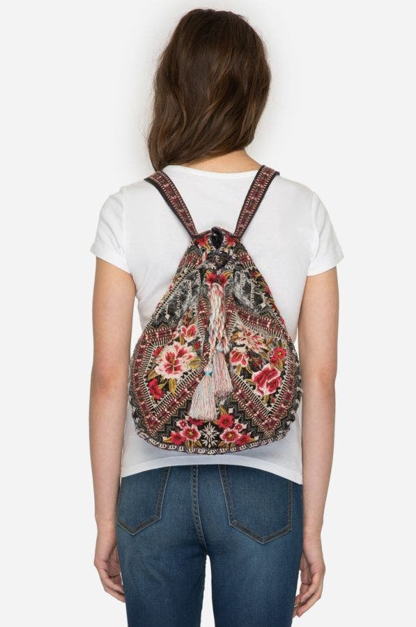 MATILDA VELVET BACKPACK