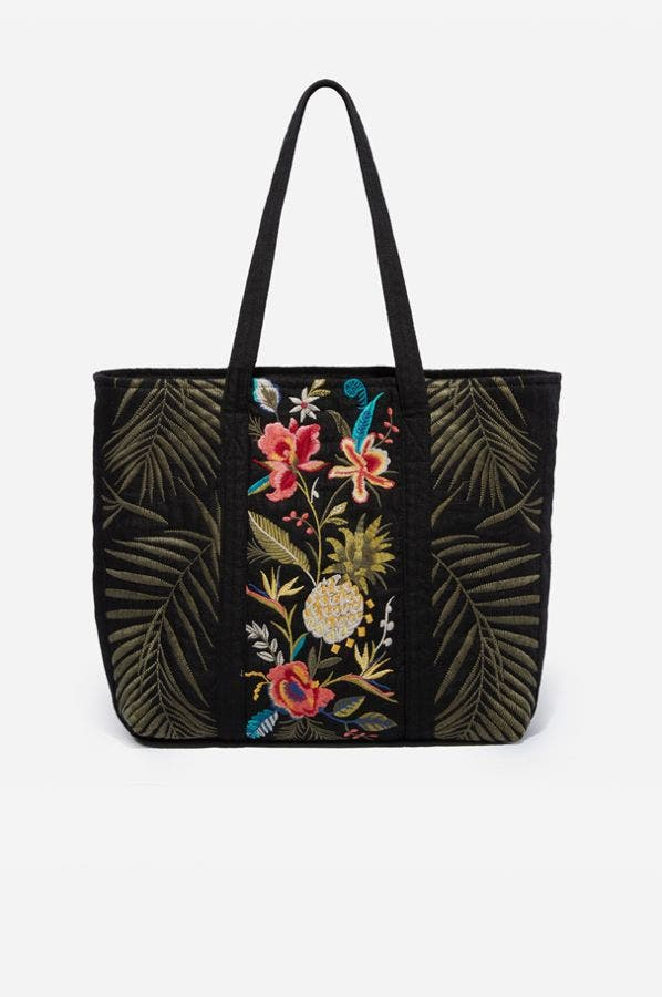 NOHEA QUILTED TOTE BAG