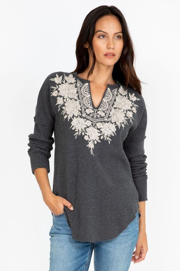 CHRISTINA V-NECK THERMAL