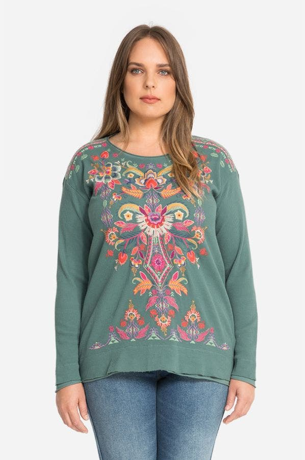 IOANA L/S THERMAL-PLUS SIZE
