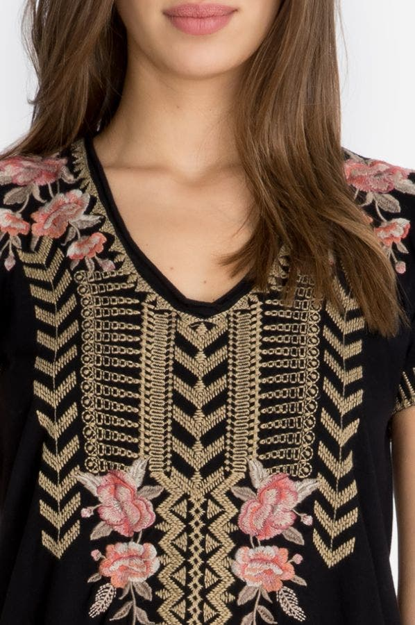 RIANNE KNIT DRAPE TOP