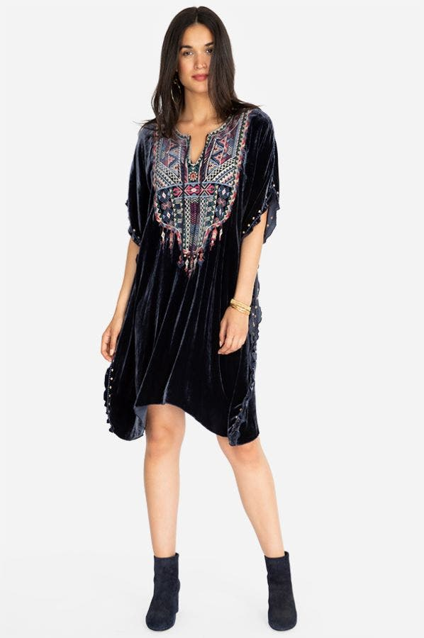NEMITA VELVET EFFORTLESS KAFTAN