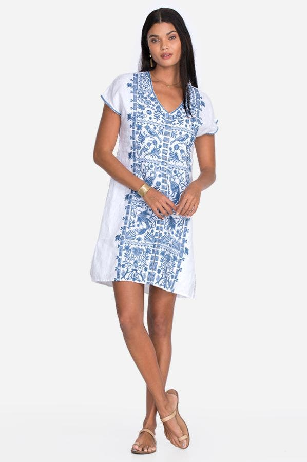 HARRIET BUTTON DOWN TUNIC DRESS