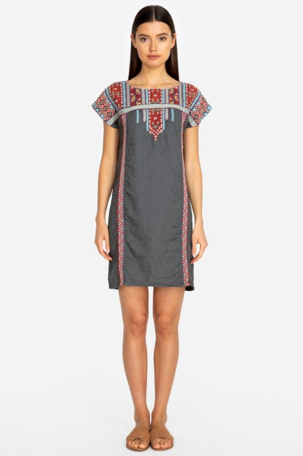 EZRA SHIFT TUNIC DRESS