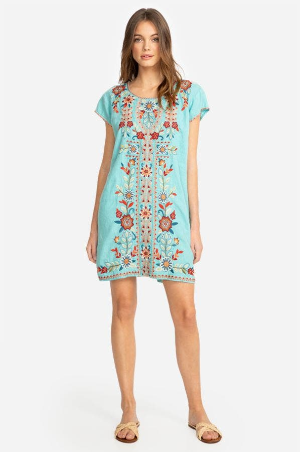 MAISIE PEASANT TUNIC DRESS