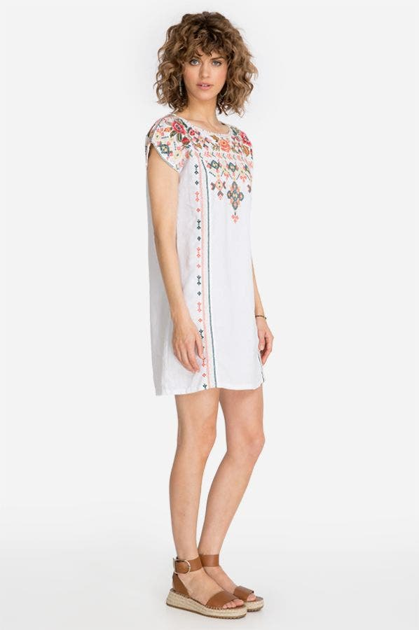 CHANDRA SHIFT TUNIC DRESS