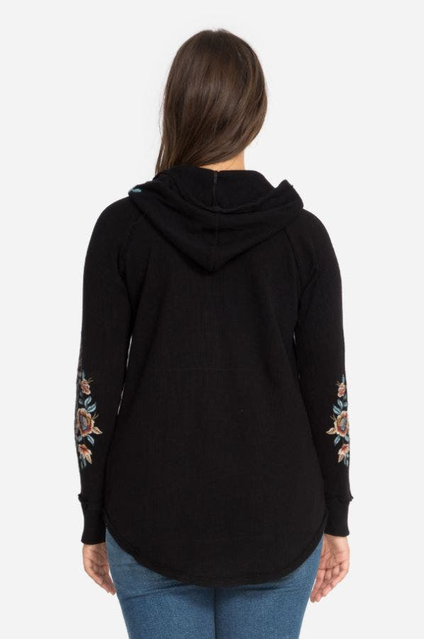 ELENI HOODED THERMAL-PLUS SIZE