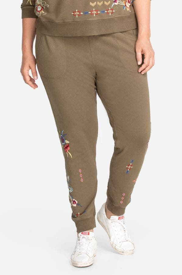 DREAMER FRENCH TERRY JOGGER-PLUS SIZE