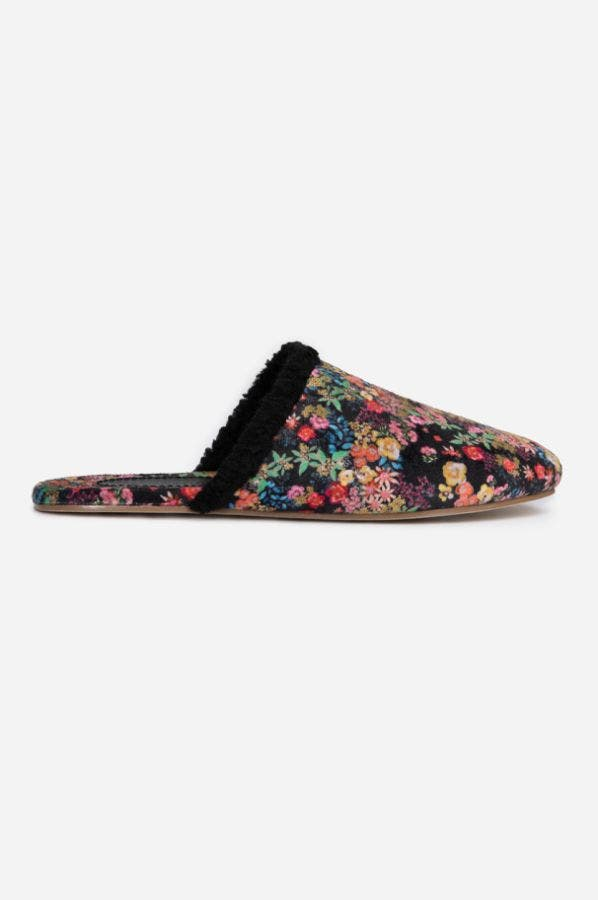 PRINTED SHERLING SLIPPER