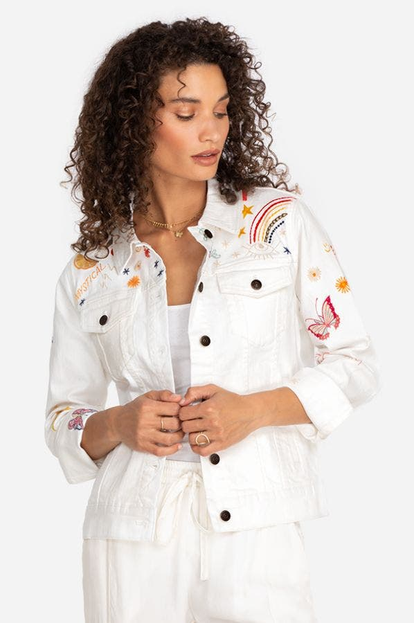 VIDA EMBROIDERY JACKET