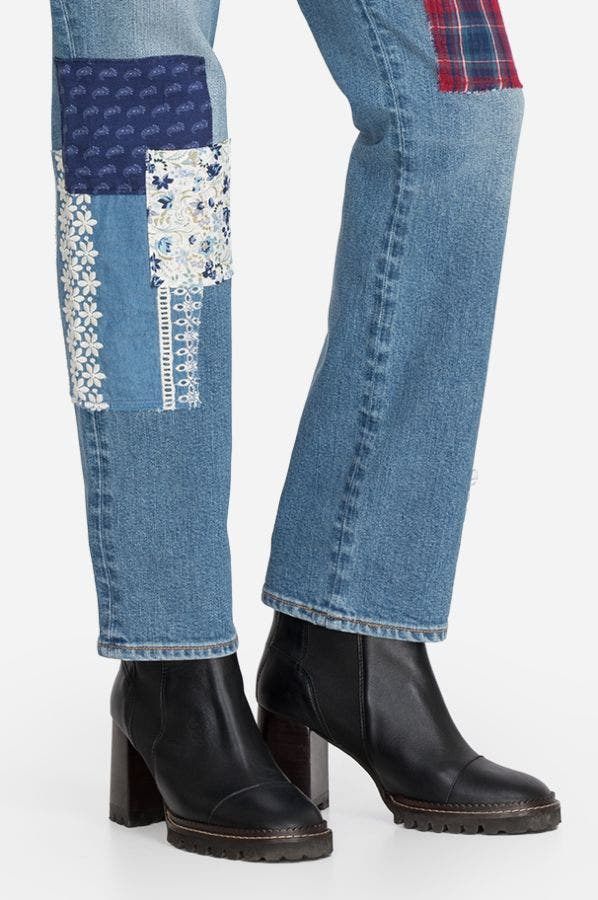 AMELIA PATCHED JEAN
